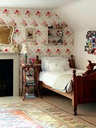 chambre fille style anglais le papier peint en 52 photos pleines d idées dans la chambre le