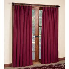 Pink Pleated Curtains Crosby Pinch Pleat Thermal Room Darkening Window Treatments