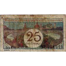 chambre de commerce 06 chambres de commerce 25 centimes 1918