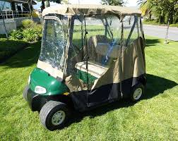 Club Car Ds Roof by Amazon Com Golf Cart Driving Enclosure 2 Seater Golf Cart