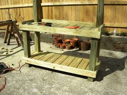 Garden Potting Bench Best Potting Bench Plans To Increase Productivity In Gardening