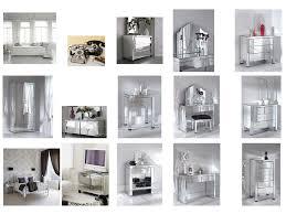 Mirrored Furniture In Bedroom Bedroom Elegant Mirrored Bedroom Furniture Mirrored Furniture