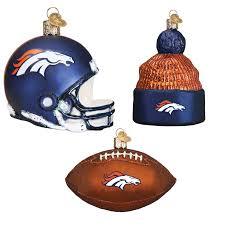 Sports Ornaments Christmas Denver Broncos Christmas Ornaments Birthdayexpress Com