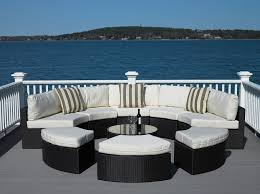 Online Get Cheap Aluminium Outdoor Furniture Aliexpresscom - Round outdoor sofa