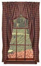 Primitive Kitchen Curtains Black And Tan Prairie Curtain Primitive Country Window Curtain