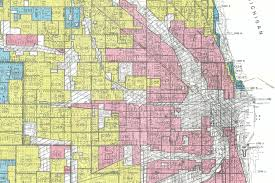 Chicago To Atlanta Map by New Deal Era Maps Show Redlining And Anti Density Forces At
