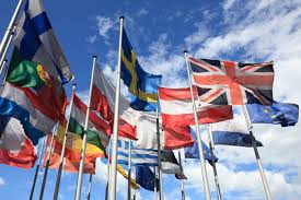 Europe Flags The Big Debate The Positive Case For Europe Trg
