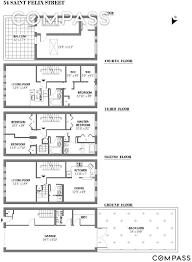 Brooklyn Brownstone Floor Plans by Landmarked Bed Stuy Brownstone Wants 3 25m After Full Renovation