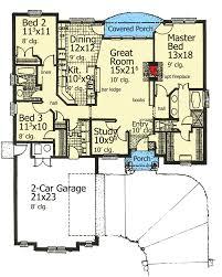 plan 48105fm attractive european cottage house plan cottage