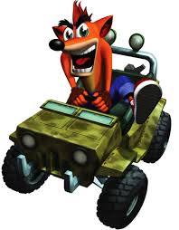jeep art crash bandicoot 4 crash in a jeep render png by jerimiahisaiah