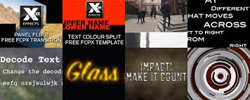 8 new free plugins for final cut pro x on freeeffectfriday