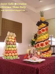 christmas fruit arrangements garnishfoodblog fruit carving arrangements and food garnishes 1