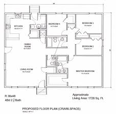 shining inspiration 7 36 x 48 house plans floor plan for a 28 x