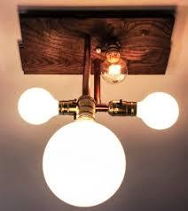 copper pipe light fixture copper pipe light fixtures home design ideas