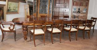 11 piece dining room set dining room mid century duncan phyfe chairs for home furniture