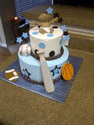 baby boy shower sports theme cake gallery picture cake design