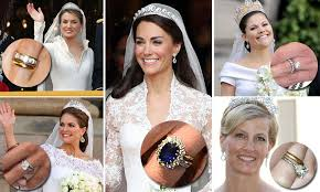 royal wedding rings kate middleton letizia princess sofia