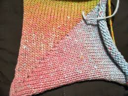 best 25 knitting rows ideas on wrap and turn