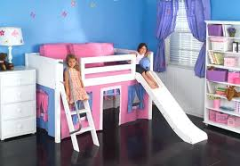 the bedroom source the bedroom source low loft bed with playhouse and slide bedroom
