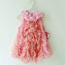 flowers summer girls dress infant romper dresses toddler kids