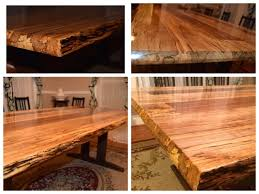 logan u0027s live edge spalted maple dining table the wood whisperer