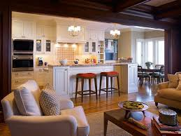 open kitchen design with island gorgeous fireplace collection a