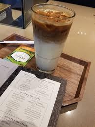 iced espresso macchiato vanilla crème anglaise macchiato new at reserve bars