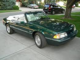 7 up edition mustang 1990 mustang lx limited edition 7 up 1990 ford mustangs
