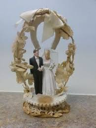 Wedding Arches Ebay Antique Wedding Cake Topper 1920s Cake Topper With Arch And Bell