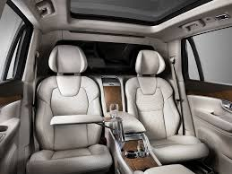 luxury minivan interior most expensive volvo business insider