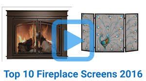 top 10 fireplace screens of 2016 video review