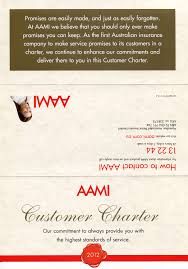 aami abolished its customer charter