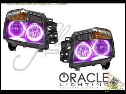 Automotive Led Lights Bulbs by Oracle 04 15 Nissan Armada Led Halo Rings Head Fog Lights Bulbs