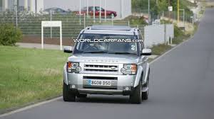 land rover lr3 lifted land rover discovery lr3 facelift first photos