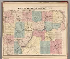 Pa County Map Warren County Pennsylvania David Rumsey Historical Map Collection