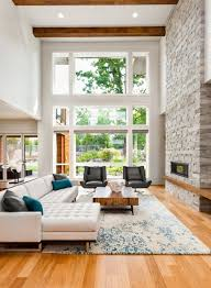 Mid Century Window Trim This Home Also Draws On Contemporary And Midcentury Modern Themes