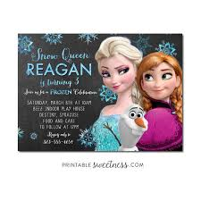 53 best frozen birthday invitations images on pinterest frozen