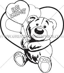 be mine teddy be mine teddy production ready artwork for t shirt printing