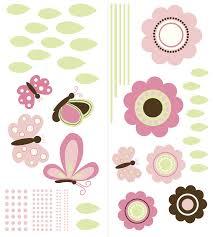 garden wall art sticker kit