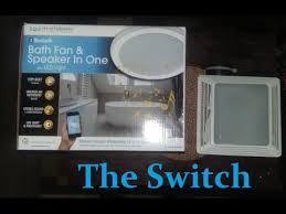 home netwerks bath fan home netwerks bluetooth music bathroom light fan youtube