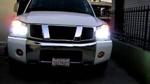 Nissan Titan Grill Nissan Titan With Ccfl Rings Youtube