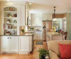 backsplash ideas for cream cabinets kitchen transitional with