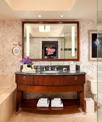 bathroom cabinets reflection lighted mirror tv bathroom mirror
