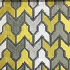 Upholstery Fabric Geometric Pattern Ministry Geometric Pattern Cut Velvet Upholstery Fabric By The