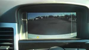 2013 chevrolet cruze rear view camera information youtube