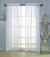 3 Inch Rod Pocket Sheer Curtains Rod Pocket Door Sheer Curtains Amazon Com