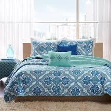 Jcpenney Bedspreads And Quilts Amazon Com Intelligent Design Lionna 4 Piece Coverlet Set Blue