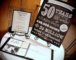 fun 50th anniversary party ideas 50th anniversary party ideas