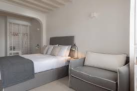 30 Square Meters by Junior Pool Front Suite Cova Mykonos Suites Mykonos Exclusive