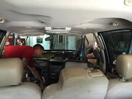 ting our donor lincoln navigator and tearing into it for our